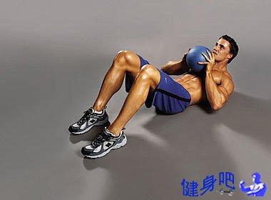 腹部锻炼:第一阶段,初步减腹