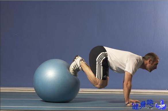 健身球桥式练习