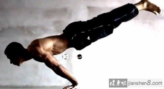 俄式,挺身,俯卧撑,Fullplanchepushup,视频