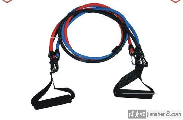 拉力绳锻炼方法,练出发达的