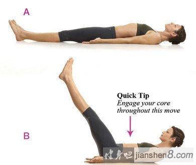 "腹肌锻炼方法,""y""型腹肌"
