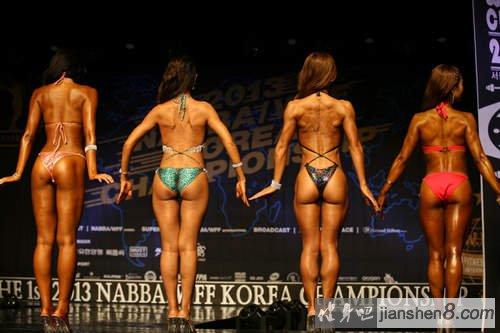 韩国《健美大赛》这么多肌肉美女真是眼花撩乱