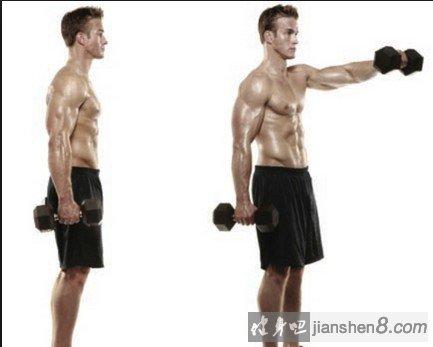 男人最爱_三角肌锻炼方法,三个动作造就女人最爱男人性感肩膀!(2)_健身吧
