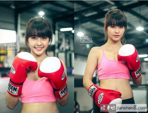 越南拳击美少女kha ngan