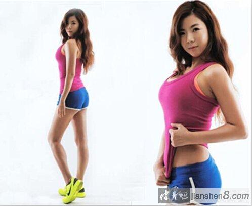 韩国美女教练朴智恩 坚挺巨乳引网友躁动