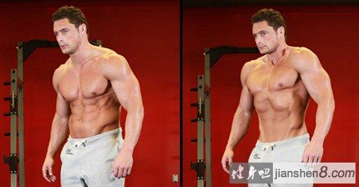 腹横肌锻炼方法,腹部真空收缩动作图解教程