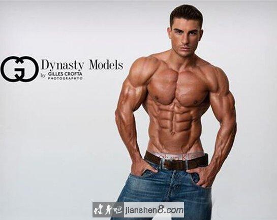 英国超帅健身男模ryan