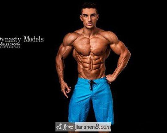 全球资讯_英国超帅健身男模Ryan Terry瑞安特里肌肉照(4)_健身吧