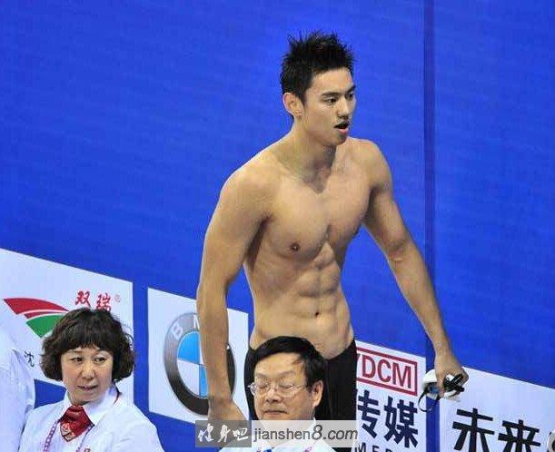 宁泽涛 肌肉_宁泽涛肌肉:仁川亚运中国新飞鱼,小鲜肉帅气夺冠(2)_健身吧