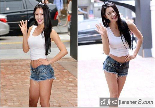 2013亚洲超级模特_亚洲第一美人李成敏运动写真_健身吧