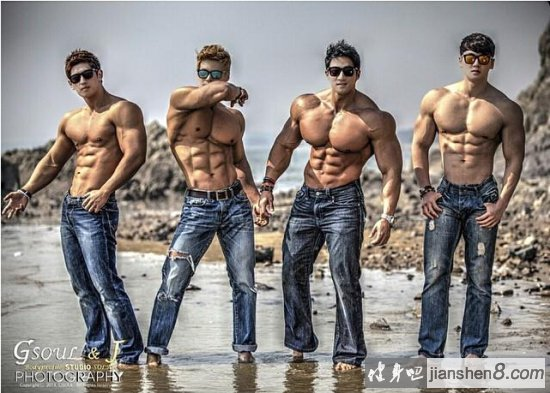 韩国最顶级健身模特,韩国最猛肌肉男