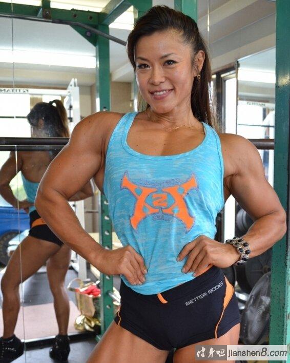 日本著名美女健身运动员神田知子