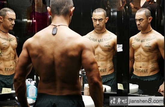 幻影车神3演员_《幻影车神》阿米尔·汗肌肉照,为电影苦练肌肉的蜕变-健身吧