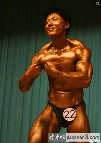 学霸变身肌肉猛_学霸变身肌肉男!2015届清华大学健美大赛。(4)_健身吧