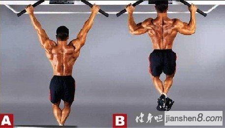 小腿肌肉_菱形肌怎么练?菱形肌锻炼方法!(2)_健身吧