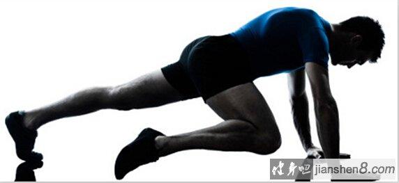 登山跑腹肌锻炼,登山跑gif图解教程