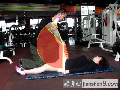 小腿拉伸_PNF拉伸法-PNF拉伸图解-PNF拉伸原理及方法(3)_健身吧