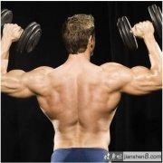 男人腰部锻炼方法_三角肌锻炼方法,三个动作造就女人最爱男人性感肩膀!(2)_健身吧
