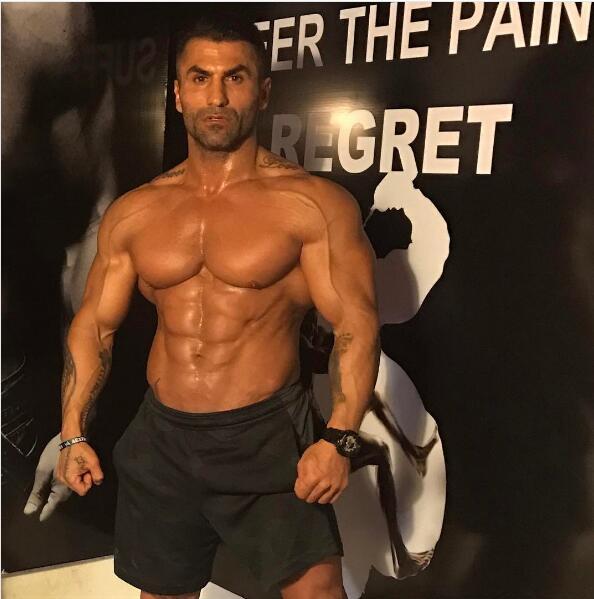 全球资讯_型男典范:希腊超帅肌肉大叔!_健身吧