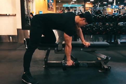 背阔肌训练动作名称大全 增肌健身